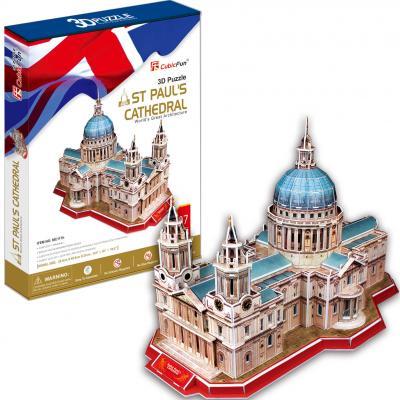 Пазл 3D CubicFun Собор Святого Павла Великобритания