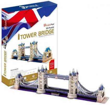Купить Пазл 3D CubicFun Тауэрский Мост (Великобритания) 120 элементов MC066H