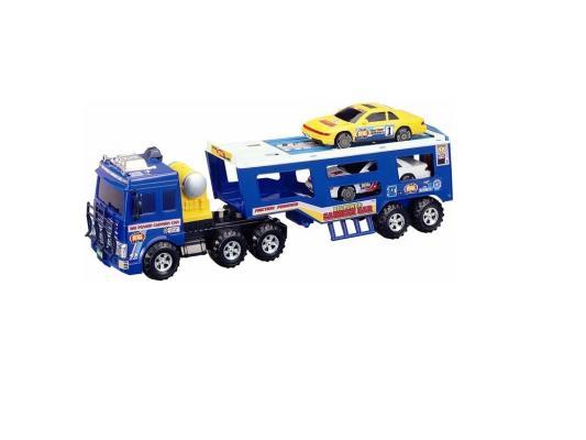 Машинка автовоз Daesung Toys 906 синий 1 шт 54 см машинка daesung toys пожарная 404
