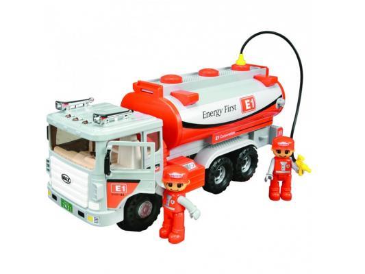 Машинка бензовоз Daesung Toys 965-1 серый 1 шт 37 см машинка daesung toys пожарная 404