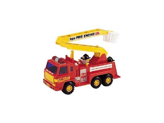 Машинка пожарная Daesung Toys 404 красный 1 шт 35 см машины daesung модель машина пожарная 404
