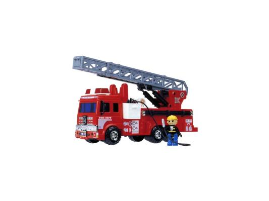 Машинка пожарная Daesung Toys 926 красный 1 шт 40,5 пламенный мотор машинка инерционная volvo пожарная охрана
