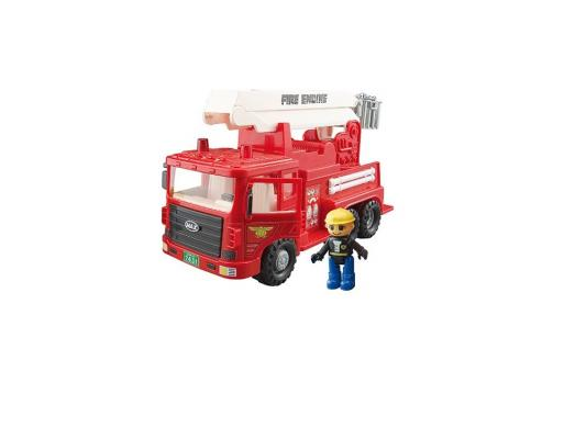 Машинка пожарная Daesung Toys MAX 959-1 красный 1 шт 34,5 см daesung toys бензовоз max 965 1