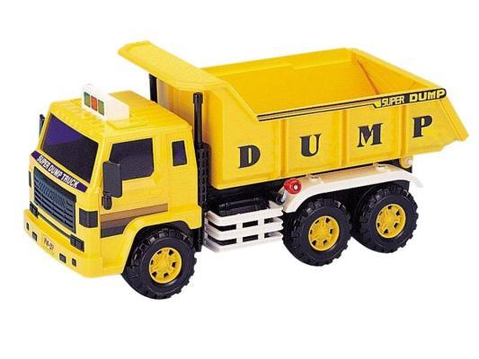 Самосвал Daesung Toys 406 желтый 1 шт 33 машинка daesung toys самосвал 406