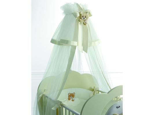 Балдахин на кроватку Baby Expert Abbracci-Trudi (крем) аксессуары для детской комнаты baby expert полка вешалка abbracci by trudi