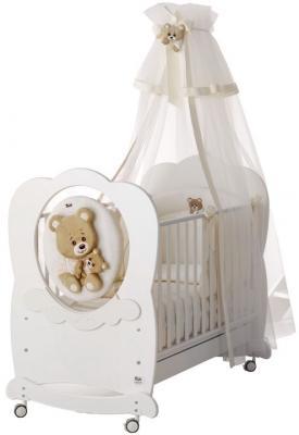 Балдахин на кроватку Baby Expert Abbracci-Trudi (крем)