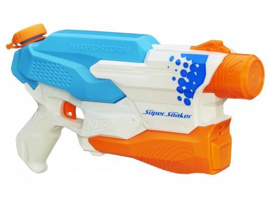 Бластер Nerf A9461 голубой оранжевый белый для мальчика
