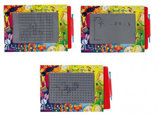 Доска для рисования Goki Волшебный экран 19 x 27 см 58653 goki куклы семья медведей goki
