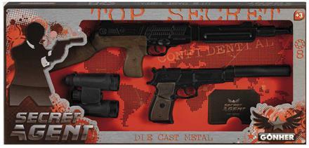 Набор Gonher Секретный агент 239/6 черный