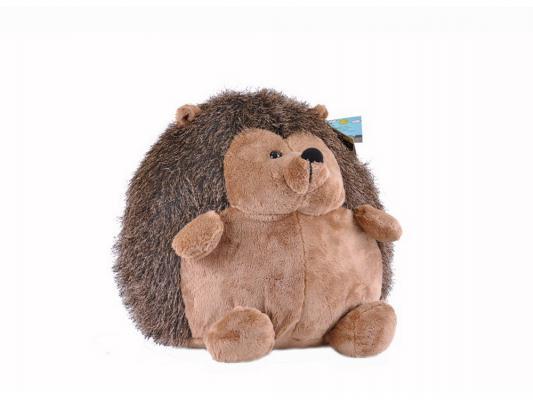 Мягкая игрушка ежик Gulliver Ежик сидячий плюш коричневый 33 см