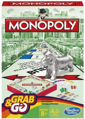 Настольная игра Hasbro Монополия (дорожная) настольная игра hasbro hasbro настольная игра монополия миллионер