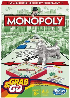 Настольная игра Hasbro Монополия (дорожная) hasbro hasbro настольная игра games классическая монополия