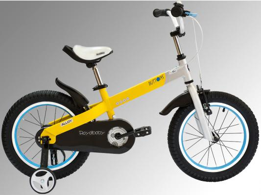 Велосипед Royal baby Alloy Buttons Diy 12 дюймов желтый