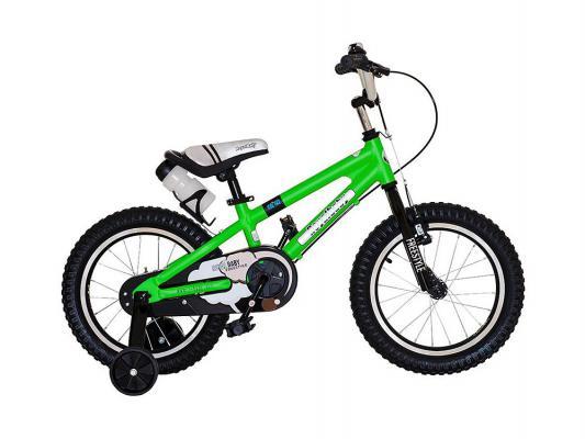 """Велосипед Royal baby Freestyle Alloy 16"""" зеленый RB16B-7"""