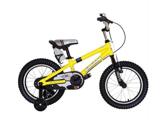 "Велосипед Royal baby Freestyle Alloy 18"" желтый RB18B-7"