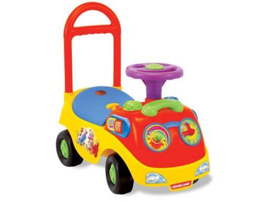 Каталка-машинка Kiddieland Забавное катание разноцветный от 1 года пластик KID 032474 kiddieland радиоуправляемая машинка kiddieland пожарная машина