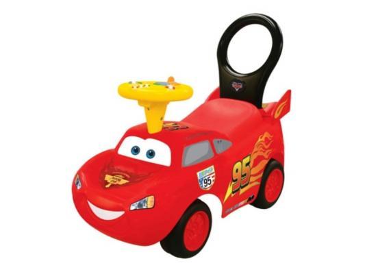 Каталка-машинка Kiddieland Молния Маккуин красный от 1 года пластик 043067 kiddieland радиоуправляемая машинка kiddieland пожарная машина