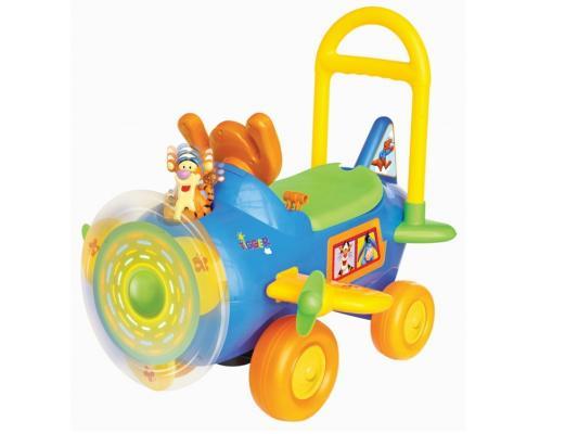 Каталка-машинка Kiddieland Тигруля с пропеллером разноцветный от 1 года пластик KID 037499 kiddieland радиоуправляемая машинка kiddieland пожарная машина