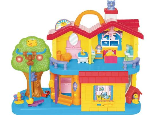 Развивающая игрушка Kiddieland Занимательный дом от 1 года 032730 kiddieland развивающая игрушка занимательный дом kid 032730