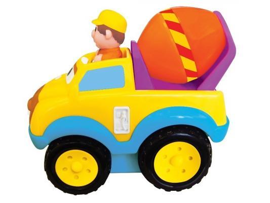 Бетономешалка Kiddieland Развивающая игрушка желтый 1 шт 20 см kiddieland развивающая игрушка бетономешалка kid 050039
