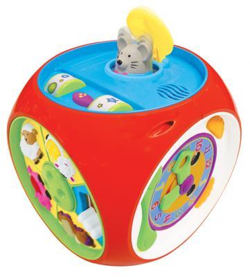 Развивающая игрушка KIDDIELAND Мультикуб KID049775 kiddieland развивающая игрушка занимательный дом kid 032730