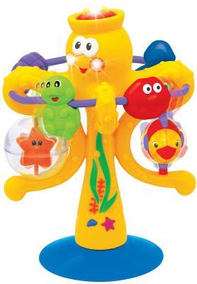 kiddieland развивающая игрушка осьминог на присоске 038190 Развивающая игрушка KIDDIELAND Осьминог на присоске 038190