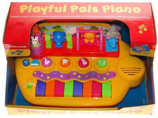 Kiddieland Развивающая игрушка Пианино с животными на качелях стоимость