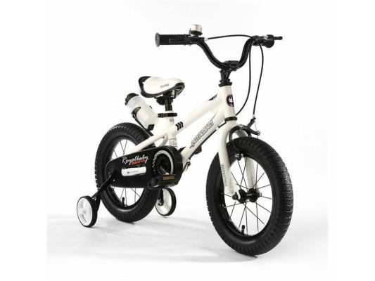 Велосипед Royal baby Freestyle Steel белый RB14B-6