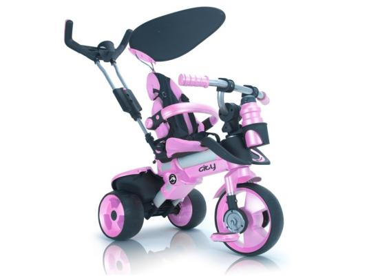Велосипед Injusa City Trike Aluminium розовый 3262/002