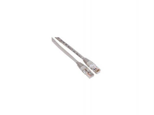 Патч-корд 5E категории Hama H-30595 UTP серый 3м патч корд utp 5e категории 0 3м hyperline pc lpm utp rj45 rj45 c5e 0 3m lszh gy серый