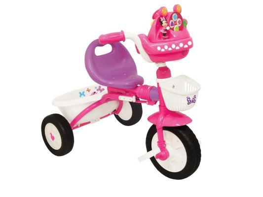 Велосипед Kiddieland Минни Маус складной розовый KID 047423 трехколесные велосипеды kiddieland складной минни маус