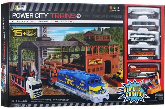 Железная дорога Powertrains Лесопогрузчик на дистанционном управлении 62219