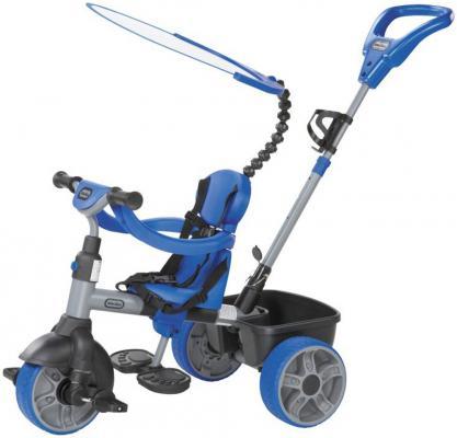 Велосипед трехколесный Little Tikes 4 в 1 голубой велосипед для малыша little tikes 4783