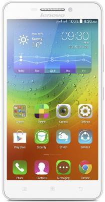 "Смартфон Lenovo A5000 белый 5"" 8 Гб GPS Wi-Fi P0SE0010RU"