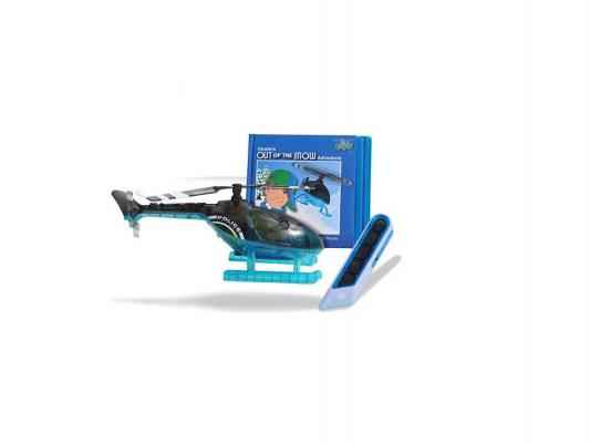 Вертолет Worx Toys с книжкой  пультом управления черный 1 шт 30 см 9113001