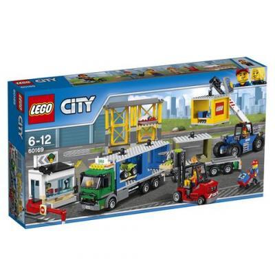 Конструктор LEGO Грузовой терминал 60169 740 элементов телевизор со склада