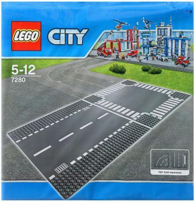 Конструктор Lego City: Перекресток 2 элемента 7280