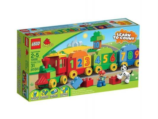 Конструктор Lego Duplo Считай и играй 31 элемент 10558