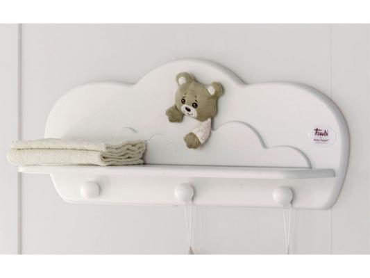 Вешалка-полка Baby Expert Abbracci-Trudi (белый) аксессуары для детской комнаты baby expert полка вешалка abbracci by trudi