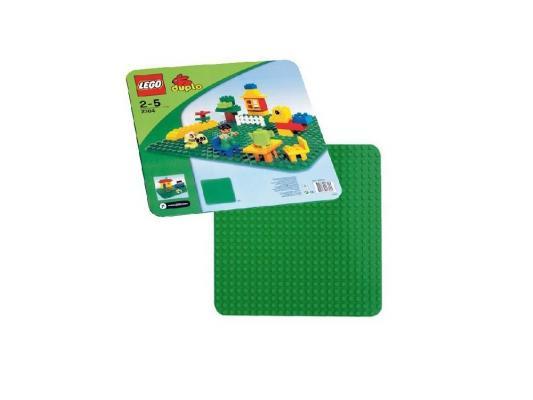 Конструктор LEGO Duplo Строительная пластина 38х38 2304 2304 конструктор lego duplo строительная пластина 38х38 1 элемент 2304