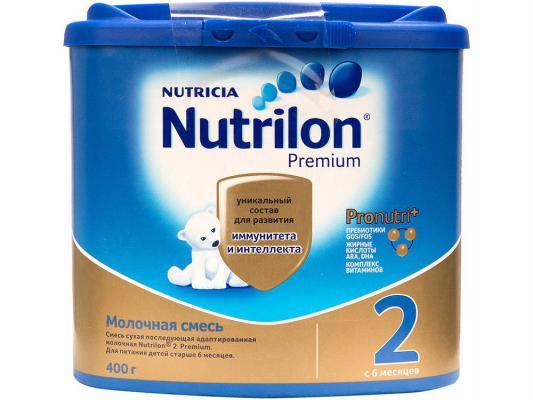 Заменитель Nutrilon 2 с 6 мес. 400 гр. premium pronutri+
