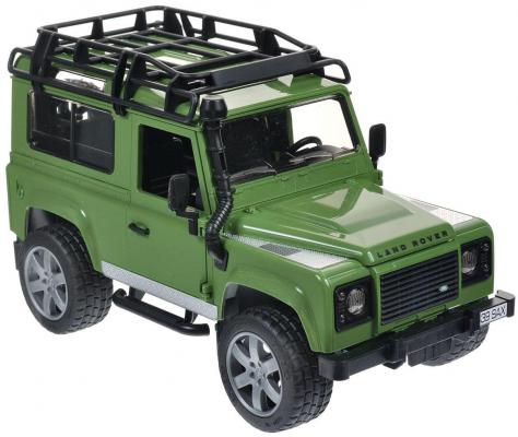 Автомобиль Bruder Land Rover Defender 1:16 зеленый 02-590