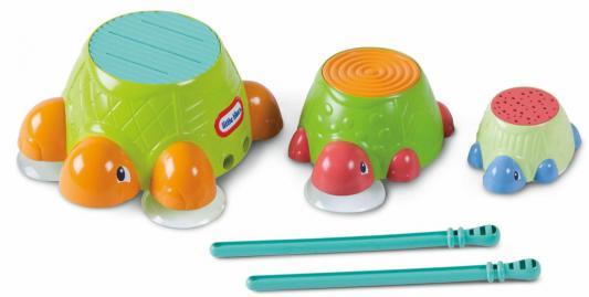Интерактивная игрушка Little Tikes Черепашки-барабаны от 1 года разноцветный