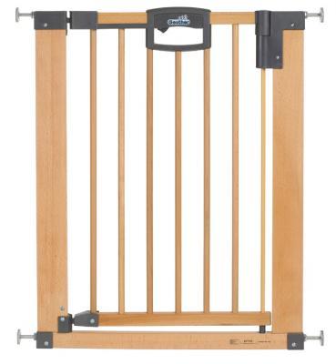 Купить Ворота безопастности Geuther Easy Lock Natural (68, 5-76, 5), натуральный, дерево, Ворота безопасности