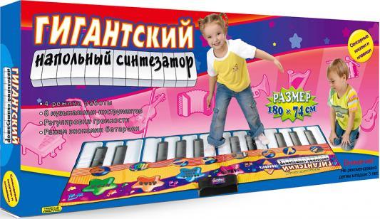 Купить Звуковой коврик Знаток Гигантский напольный синтезатор SLW928, разноцветный, Музыкальные коврики