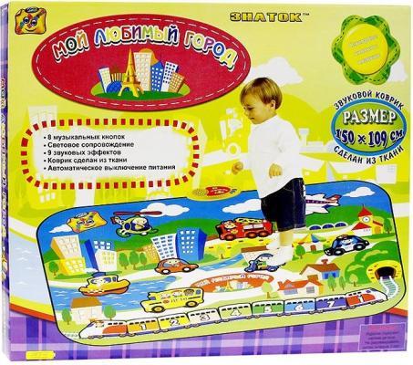 Танцевальный коврик Знаток Мой любимый город разакова в раскраски плакаты мой любимый город isbn 978 5 906838 74 2