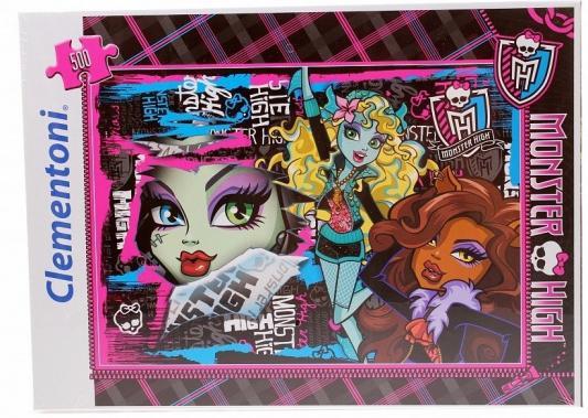 цена Пазл Monster High Чудовищные друзья 500 элементов 30120