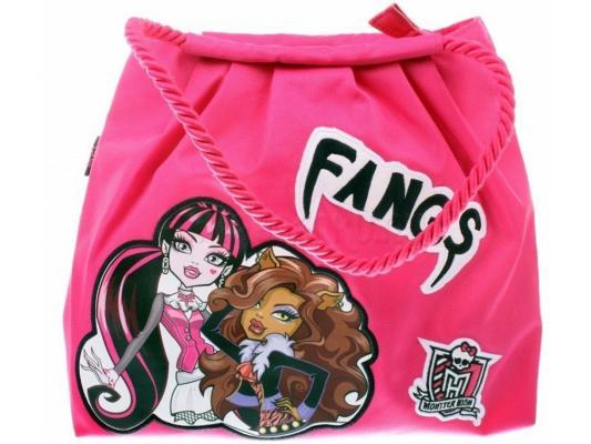 Сумка Monster High Fangs 1361 розовый рисунок сумка monster high школа монстров рисунок розовый 1309
