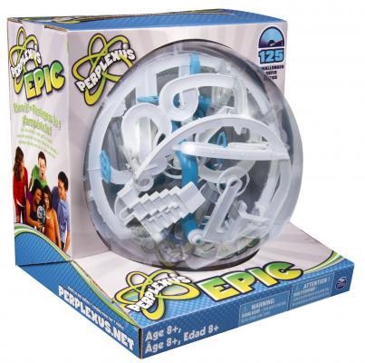 Игра-головоломка SPIN MASTER Perplexus Epic, 125 барьеров от 8 лет 34177 игра головоломка recent toys cubi gami