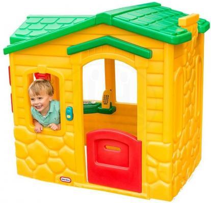 Игровой домик «Волшебный звонок» с зеленой крышей